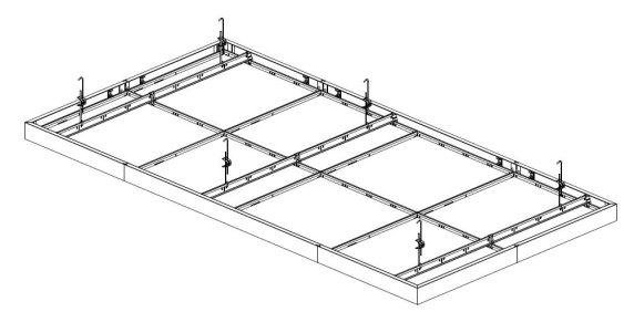 Plafondeilandsysteem Insula® 76A